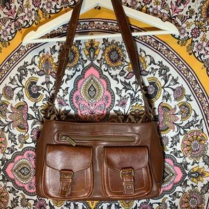 Relic brand brown leather purse